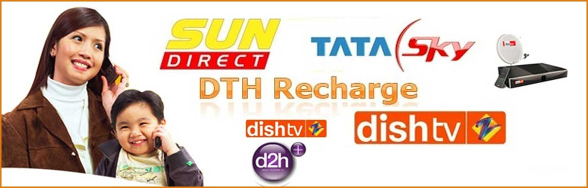 dth recharge services for retailer and distributer
